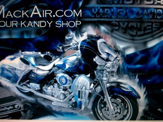 ultra classic airusded designed and painted by mackair,airbrush jax fl, custom painting, visual fx